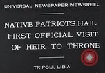 Image of crown prince Tripoli Libya, 1932, second 8 stock footage video 65675037697