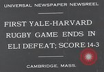 Image of Rugby match Cambridge Massachusetts USA, 1932, second 2 stock footage video 65675037701