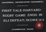 Image of Rugby match Cambridge Massachusetts USA, 1932, second 5 stock footage video 65675037701
