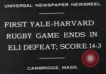 Image of Rugby match Cambridge Massachusetts USA, 1932, second 7 stock footage video 65675037701