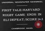 Image of Rugby match Cambridge Massachusetts USA, 1932, second 8 stock footage video 65675037701