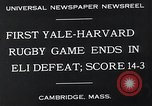 Image of Rugby match Cambridge Massachusetts USA, 1932, second 10 stock footage video 65675037701