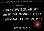 Image of annual convention New York United States USA, 1932, second 1 stock footage video 65675037702