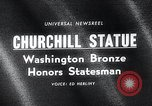 Image of Churchill's statue Washington DC USA, 1966, second 1 stock footage video 65675037706