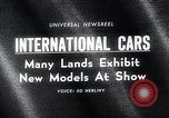 Image of International Automobile Show New York United States USA, 1966, second 5 stock footage video 65675037707