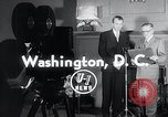 Image of Jimmy Stewart receiving Citation of Honor Washington DC USA, 1954, second 3 stock footage video 65675037712