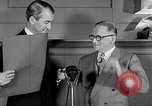 Image of Jimmy Stewart receiving Citation of Honor Washington DC USA, 1954, second 8 stock footage video 65675037712