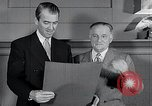 Image of Jimmy Stewart receiving Citation of Honor Washington DC USA, 1954, second 9 stock footage video 65675037712