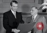 Image of Jimmy Stewart receiving Citation of Honor Washington DC USA, 1954, second 10 stock footage video 65675037712