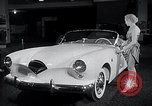 Image of World Motor Sports Show of 1954 New York City USA, 1954, second 6 stock footage video 65675037715