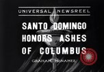 Image of Columbus's ashes Santo Domingo Dominican Republic, 1936, second 1 stock footage video 65675037731