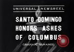 Image of Columbus's ashes Santo Domingo Dominican Republic, 1936, second 2 stock footage video 65675037731