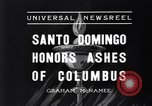 Image of Columbus's ashes Santo Domingo Dominican Republic, 1936, second 4 stock footage video 65675037731