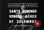 Image of Columbus's ashes Santo Domingo Dominican Republic, 1936, second 7 stock footage video 65675037731