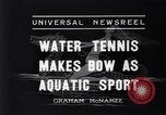 Image of water tennis Venice Beach Los Angeles California USA, 1936, second 6 stock footage video 65675037733