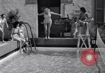 Image of water tennis Venice Beach Los Angeles California USA, 1936, second 10 stock footage video 65675037733