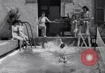 Image of water tennis Venice Beach Los Angeles California USA, 1936, second 12 stock footage video 65675037733