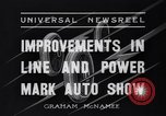 Image of Auto Show New York City USA, 1936, second 3 stock footage video 65675037734