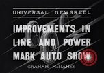 Image of Auto Show New York City USA, 1936, second 7 stock footage video 65675037734