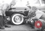 Image of Firestone puncture proof tires United States USA, 1955, second 1 stock footage video 65675037736