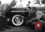 Image of Firestone puncture proof tires United States USA, 1955, second 2 stock footage video 65675037736
