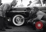 Image of Firestone puncture proof tires United States USA, 1955, second 3 stock footage video 65675037736