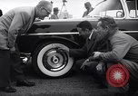 Image of Firestone puncture proof tires United States USA, 1955, second 4 stock footage video 65675037736