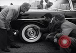 Image of Firestone puncture proof tires United States USA, 1955, second 5 stock footage video 65675037736