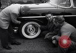 Image of Firestone puncture proof tires United States USA, 1955, second 8 stock footage video 65675037736
