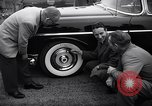 Image of Firestone puncture proof tires United States USA, 1955, second 9 stock footage video 65675037736