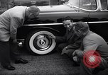 Image of Firestone puncture proof tires United States USA, 1955, second 10 stock footage video 65675037736