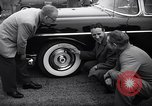 Image of Firestone puncture proof tires United States USA, 1955, second 11 stock footage video 65675037736