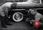 Image of Firestone puncture proof tires United States USA, 1955, second 12 stock footage video 65675037736