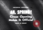 Image of circus New York United States USA, 1965, second 1 stock footage video 65675037739
