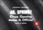 Image of circus New York United States USA, 1965, second 2 stock footage video 65675037739