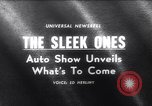 Image of 1965 International Automobile Show New York United States USA, 1965, second 1 stock footage video 65675037740