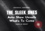 Image of 1965 International Automobile Show New York United States USA, 1965, second 2 stock footage video 65675037740
