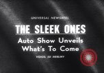 Image of 1965 International Automobile Show New York United States USA, 1965, second 3 stock footage video 65675037740