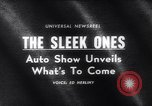 Image of 1965 International Automobile Show New York United States USA, 1965, second 4 stock footage video 65675037740