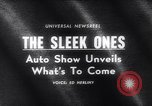 Image of 1965 International Automobile Show New York United States USA, 1965, second 5 stock footage video 65675037740