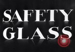 Image of safety glass United States USA, 1938, second 7 stock footage video 65675037746