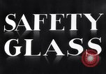 Image of safety glass United States USA, 1938, second 8 stock footage video 65675037746