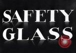 Image of safety glass United States USA, 1938, second 9 stock footage video 65675037746