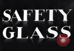 Image of safety glass United States USA, 1938, second 10 stock footage video 65675037746