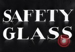 Image of safety glass United States USA, 1938, second 11 stock footage video 65675037746