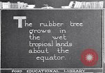 Image of rubber extraction United States USA, 1921, second 1 stock footage video 65675037752