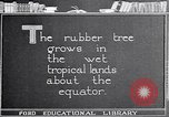 Image of rubber extraction United States USA, 1921, second 2 stock footage video 65675037752