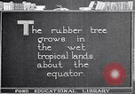 Image of rubber extraction United States USA, 1921, second 4 stock footage video 65675037752