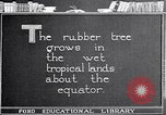 Image of rubber extraction United States USA, 1921, second 5 stock footage video 65675037752