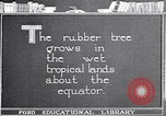 Image of rubber extraction United States USA, 1921, second 7 stock footage video 65675037752